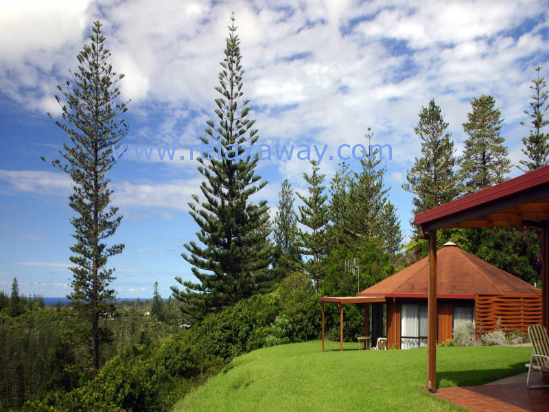 Whispering Pines Luxury Cottages Norfolk Island The